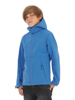 B&C Softshell Hooded Jacket Kids