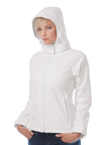 B&C Softshell Hooded Jacket Women