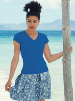 Fruit of the Loom Valueweight V-Neck T Lady-Fit