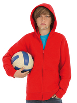 B&C Kids Hooded Sweat Jacket