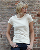 Fruit of the Loom Lady-Fit Organic Cotton T