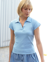 Fruit of the Loom Lady-Fit Rib Polo